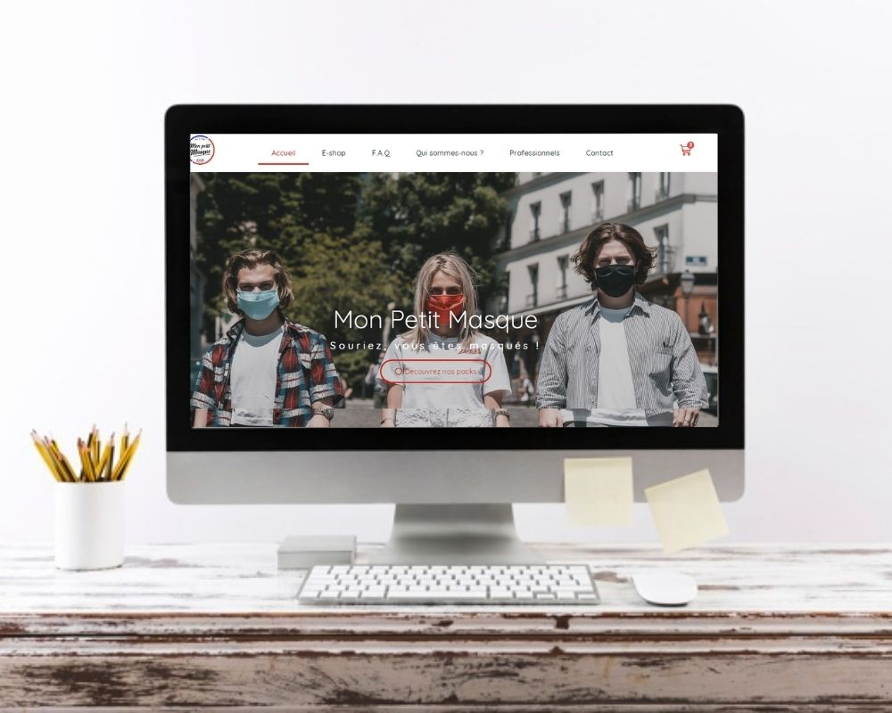 Site web Mon Petit Masque