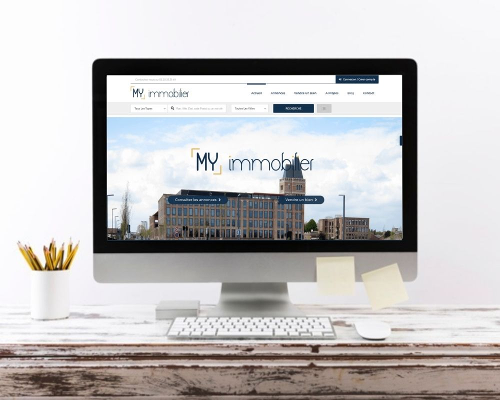 creation site web immobilier lille