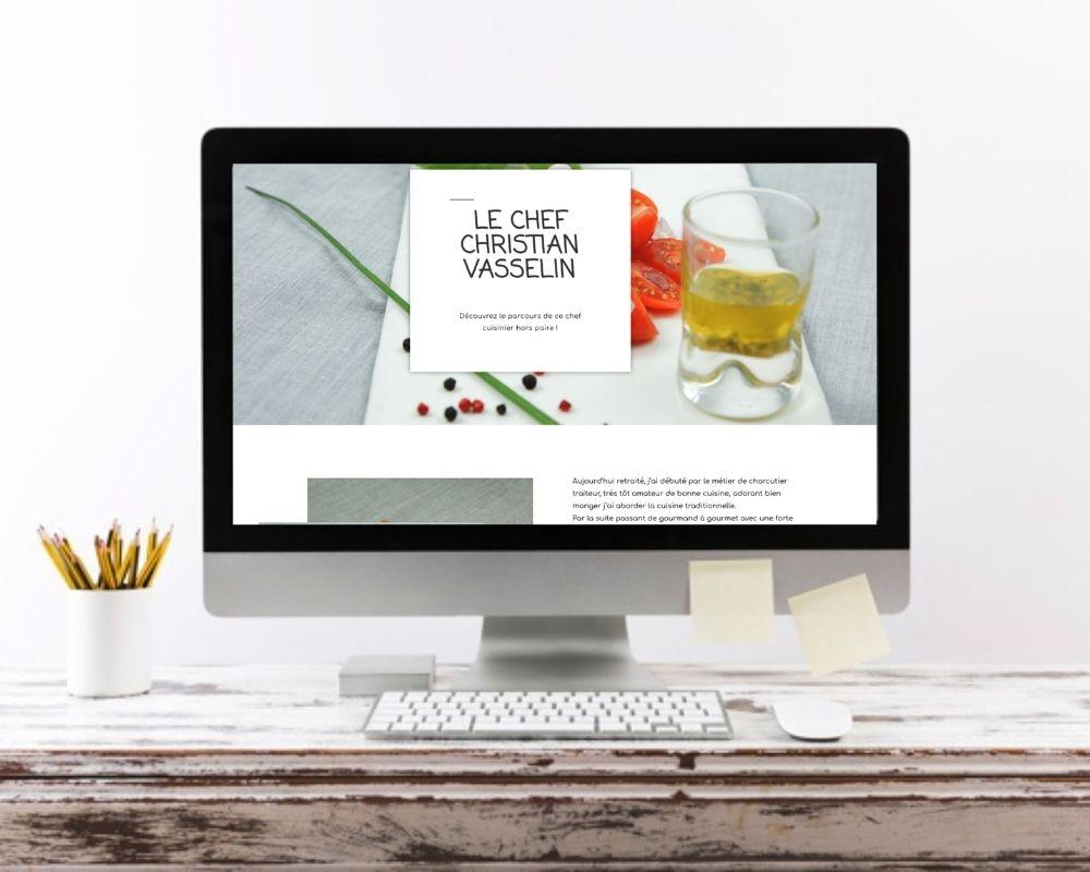 creation site web balade gourmande