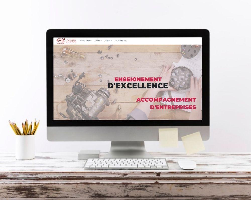 Refonte site web de la Chambre des métiers