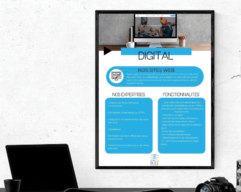 plaquette affiche comonbuzz freelance lille