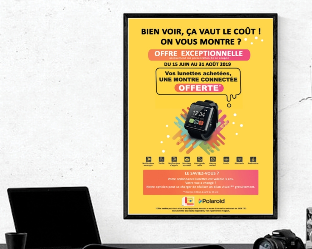 affiche mutualite francaise freelance web graphiste lille