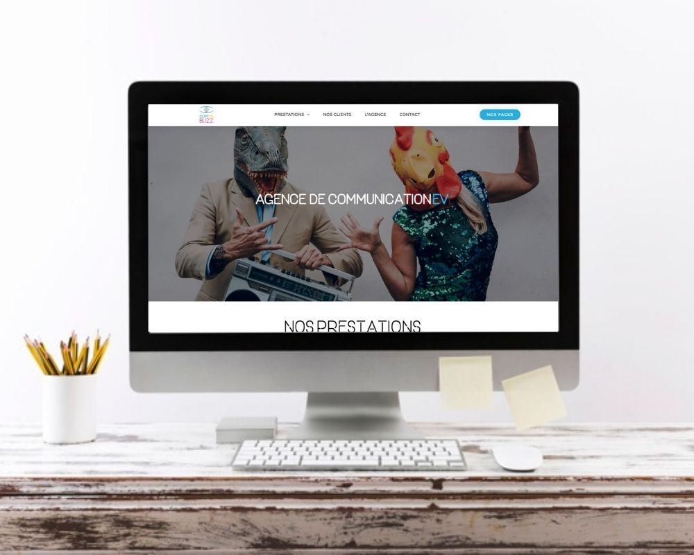 Site web agence Comonbuzz