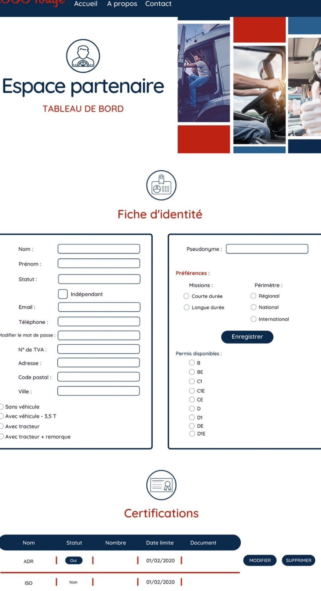 freelance mission webdesign lille rouen plateforme web